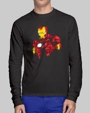 Man Of Iron Long Sleeve Tee lifestyle-unisex-longsleeve-front-1