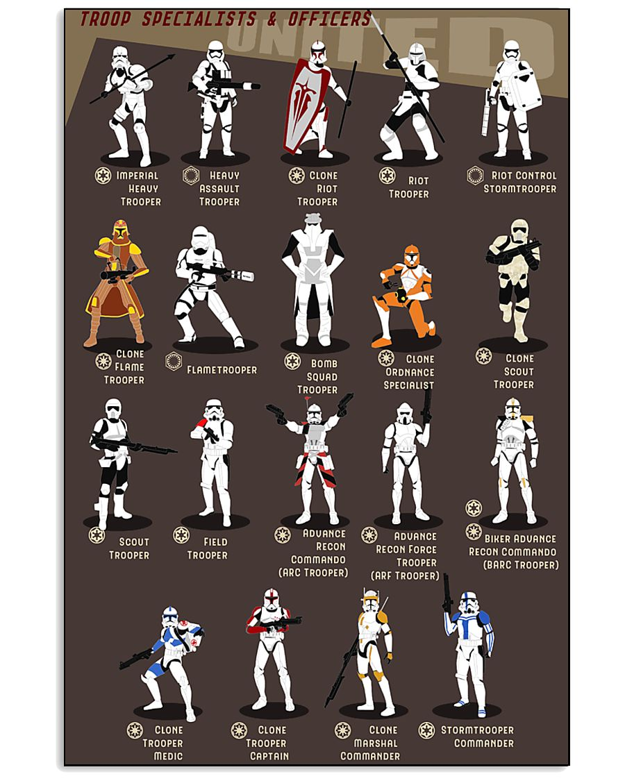 Troop Specialist And Officers 16x24 Poster