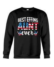Best Effing Aunt Ever Crewneck Sweatshirt thumbnail