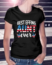 Best Effing Aunt Ever Ladies T-Shirt lifestyle-women-crewneck-front-7