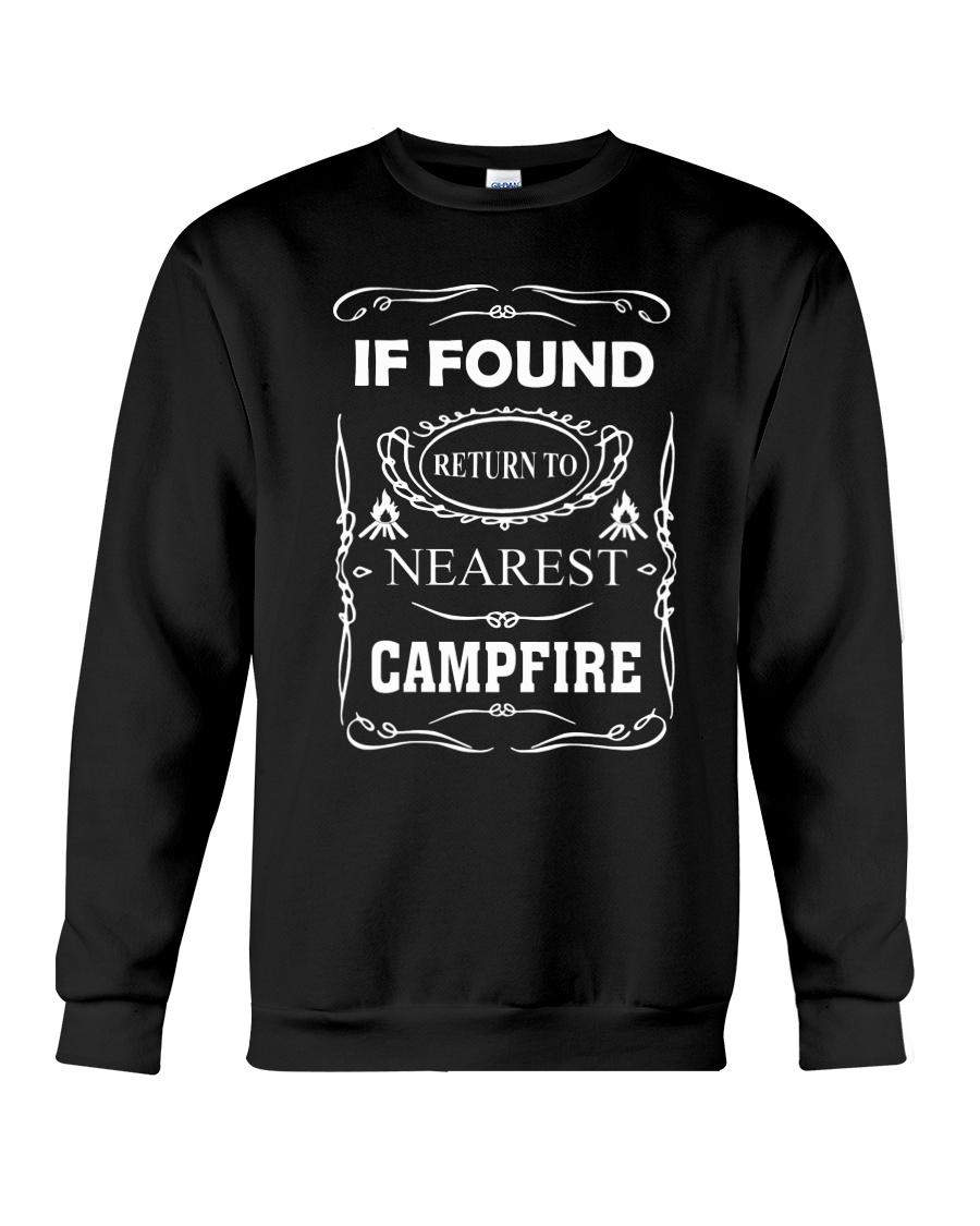 If Found Return To Nearest Campfire Crewneck Sweatshirt