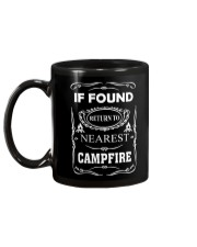 If Found Return To Nearest Campfire Mug back