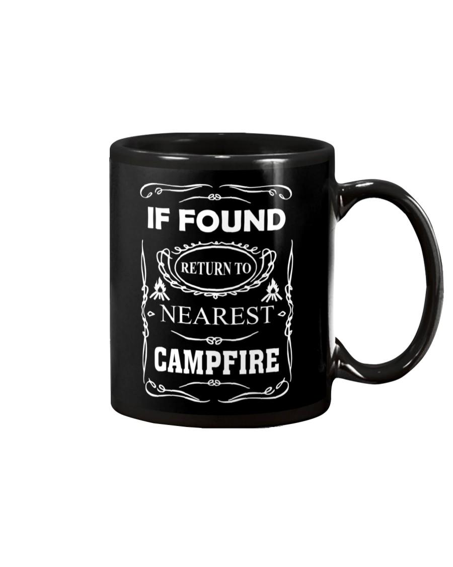 If Found Return To Nearest Campfire Mug