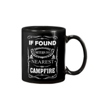 If Found Return To Nearest Campfire Mug tile
