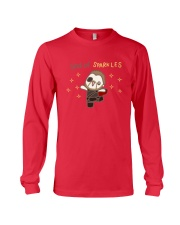 God Of Sparkles Long Sleeve Tee front