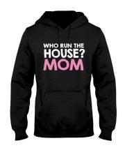 Who Run The House Hooded Sweatshirt thumbnail