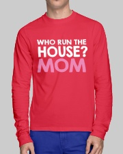 Who Run The House Long Sleeve Tee lifestyle-unisex-longsleeve-front-1