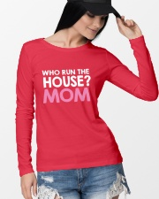 Who Run The House Long Sleeve Tee lifestyle-unisex-longsleeve-front-4