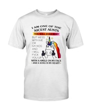 I Am One Of The Nicest Aunts Classic T-Shirt tile