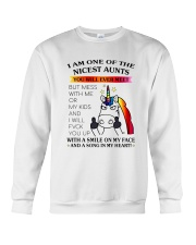 I Am One Of The Nicest Aunts Crewneck Sweatshirt tile