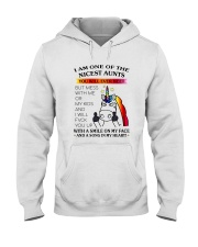 I Am One Of The Nicest Aunts Hooded Sweatshirt thumbnail