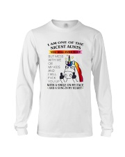I Am One Of The Nicest Aunts Long Sleeve Tee thumbnail