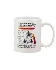 I Am One Of The Nicest Aunts Mug thumbnail