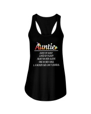 Unicorn Auntie - Limited Edition Ladies Flowy Tank thumbnail