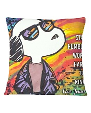 Stay Humbble Work Hard Square Pillowcase front