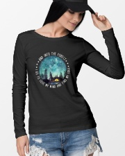 Into The Forest Long Sleeve Tee lifestyle-unisex-longsleeve-front-4