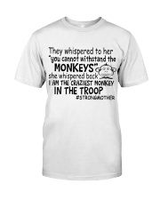 The Craziest Monkey In The Troop Classic T-Shirt thumbnail
