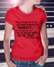 The Craziest Monkey In The Troop Ladies T-Shirt lifestyle-women-crewneck-front-7