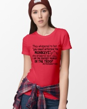 The Craziest Monkey In The Troop Ladies T-Shirt lifestyle-women-crewneck-front-9