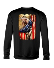 Highland cattle Flag Crewneck Sweatshirt thumbnail