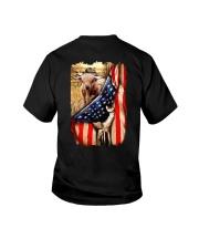 Highland cattle Flag Youth T-Shirt thumbnail