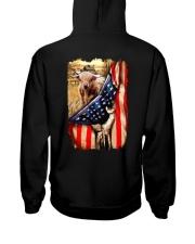 Highland cattle Flag Hooded Sweatshirt thumbnail
