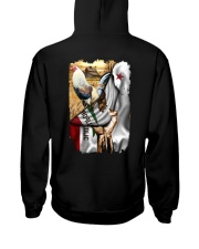 Rooster California Flag Hooded Sweatshirt thumbnail