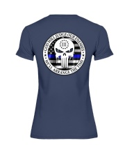 Dont tread on me Police MLI Premium Fit Ladies Tee tile