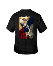 Rooster Texas Flag Youth T-Shirt thumbnail