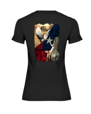 Rooster Texas Flag Premium Fit Ladies Tee thumbnail