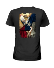 Rooster Texas Flag Ladies T-Shirt thumbnail