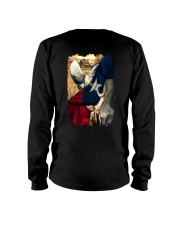 Rooster Texas Flag Long Sleeve Tee tile