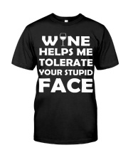 Wine tolerate Classic T-Shirt tile
