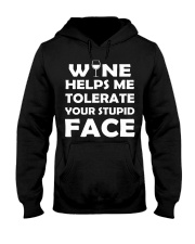 Wine tolerate Hooded Sweatshirt thumbnail