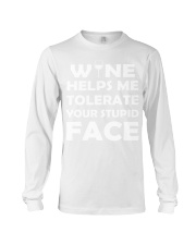 Wine tolerate Long Sleeve Tee tile