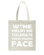 Wine tolerate Tote Bag tile