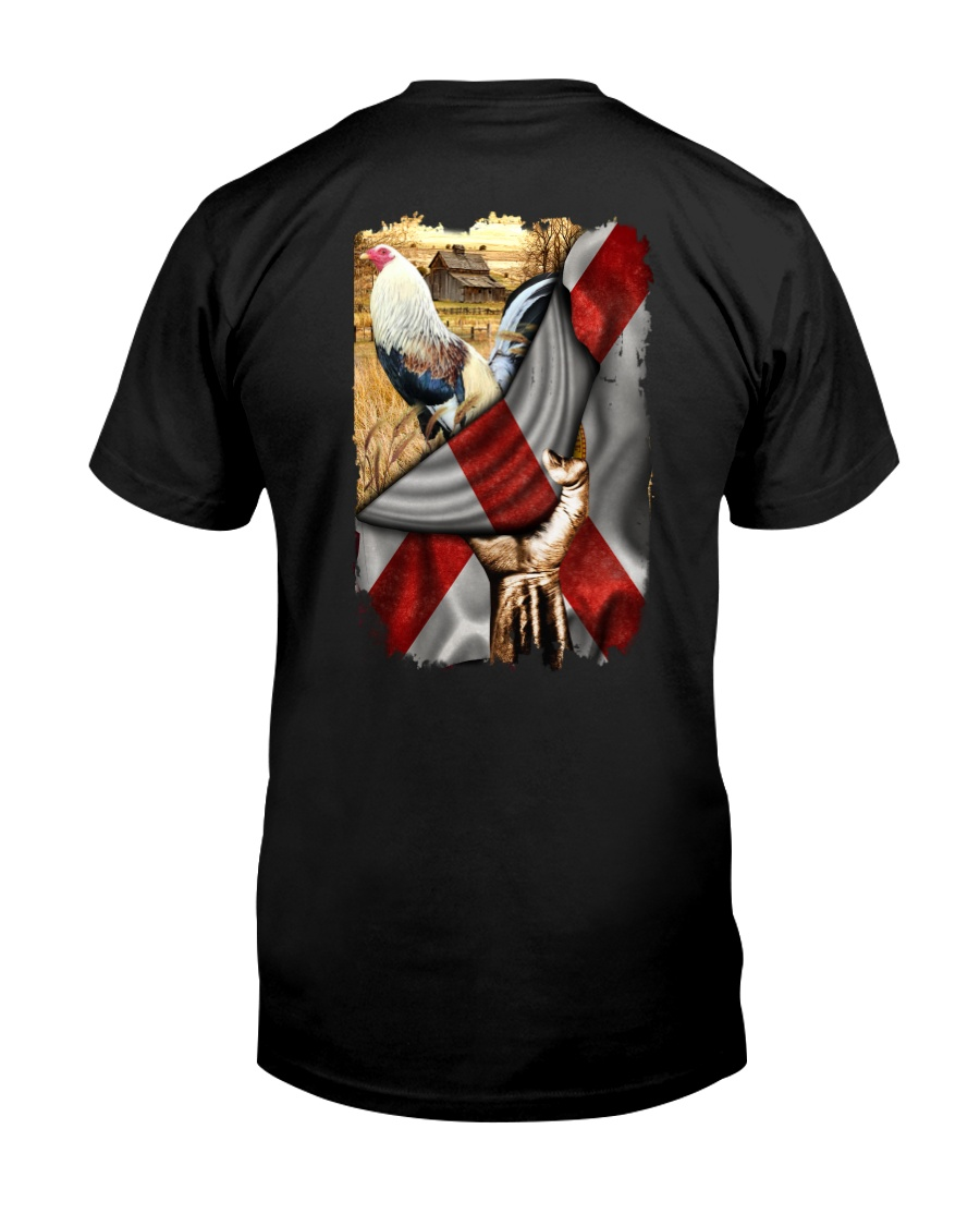 Rooster Florida Flag Classic T-Shirt