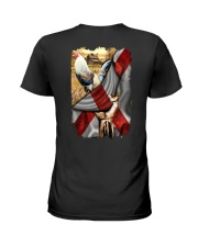 Rooster Florida Flag Ladies T-Shirt thumbnail