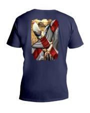 Rooster Florida Flag V-Neck T-Shirt thumbnail