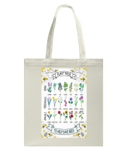PLANT THESE TO HELP SAVE BEES Tote Bag thumbnail