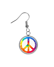 Hippie Life Circle Earrings front
