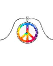 Hippie Life Metallic Circle Necklace thumbnail