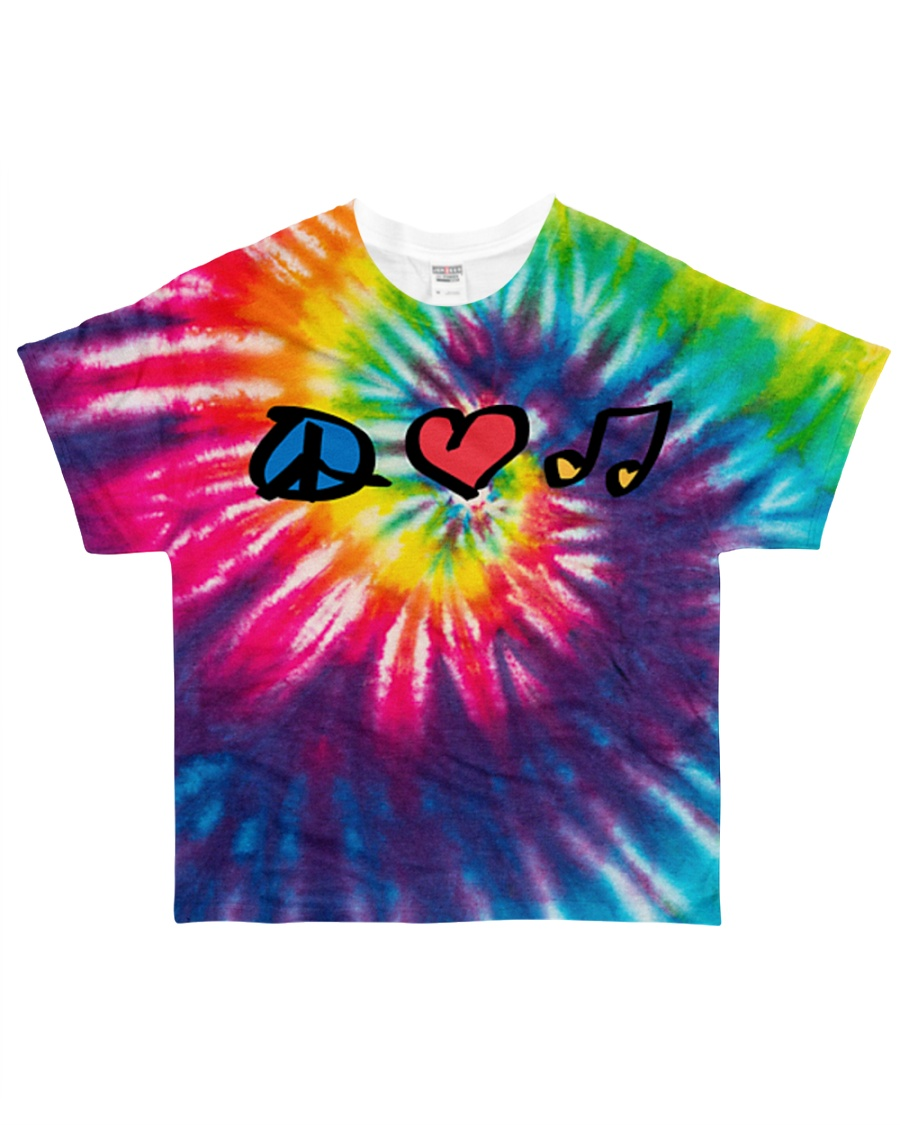 Hippie Life All-over T-Shirt