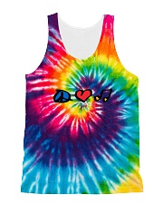 Hippie Life All-over Unisex Tank front