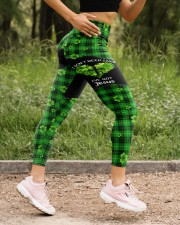 I Don't Need Luck St Patrick's Day  High Waist Leggings aos-high-waist-leggings-lifestyle-15