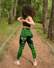 I Don't Need Luck St Patrick's Day  High Waist Leggings aos-high-waist-leggings-lifestyle-17
