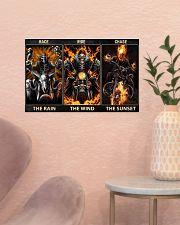 Race The Rain 17x11 Poster poster-landscape-17x11-lifestyle-22