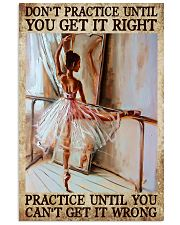 Practive Until 11x17 Poster front