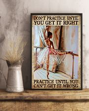 Practive Until 11x17 Poster lifestyle-poster-3