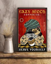 Lazy sloth 11x17 Poster lifestyle-poster-3